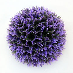 Artificial Topiary Ball C017 Purple